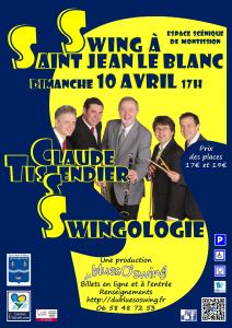 Affiche Swingologie revue